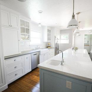 Cucina con ante di vetro Sacramento - Foto e Idee per Ristrutturare ...