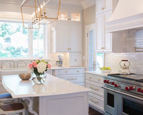 White Kitchen Remodel St Louis