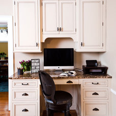 Traditional Home Office by Karr Bick Kitchen and Bath