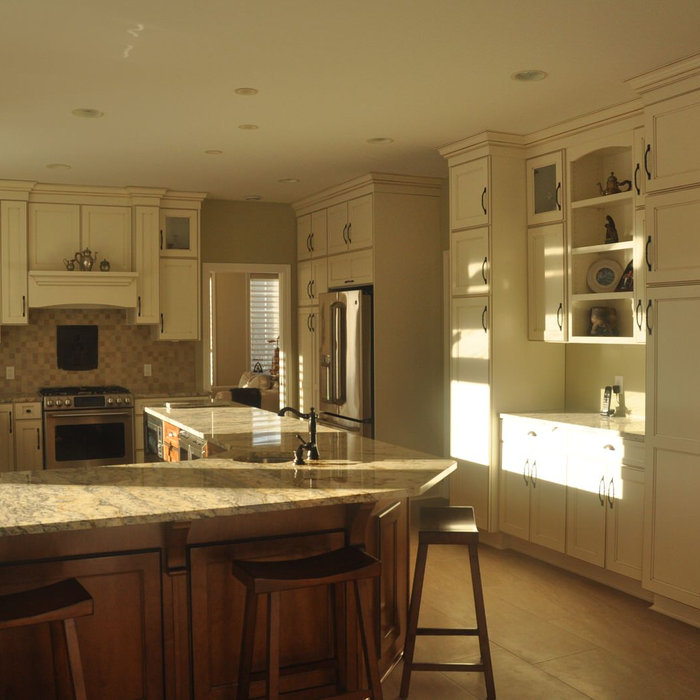 Sandy D - White Kitchen Renovation