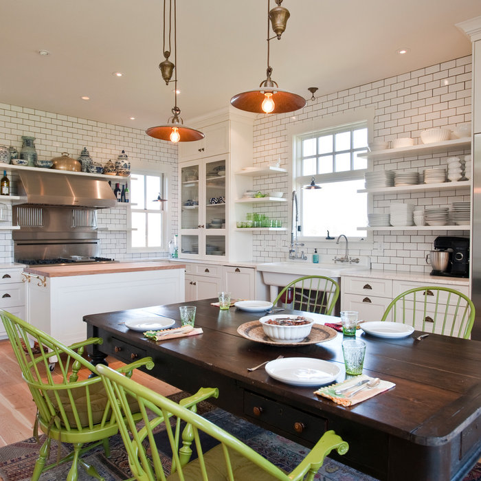 Farmhouse White Kitchen