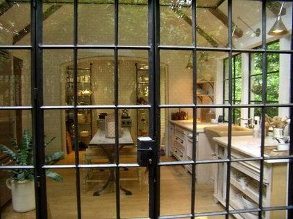 Kitchen White Kitchen Steel  Windows