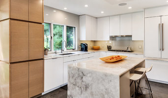 White kitchen with quartz counter tops