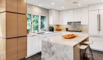 White kitchen with quartz counter tops