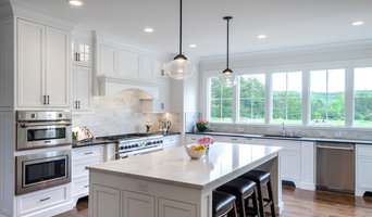 White Kitchen with Wall of Windows