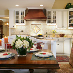 eclectic kitchen by Marlene Wangenheim AKBD, CAPS, Allied Member ASID