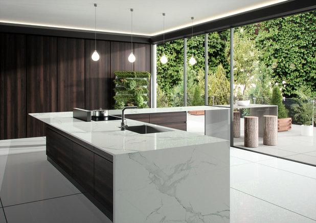 Contemporary Kitchen by Cosentino Australia