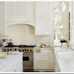 traditional kitchen White Kitchens
