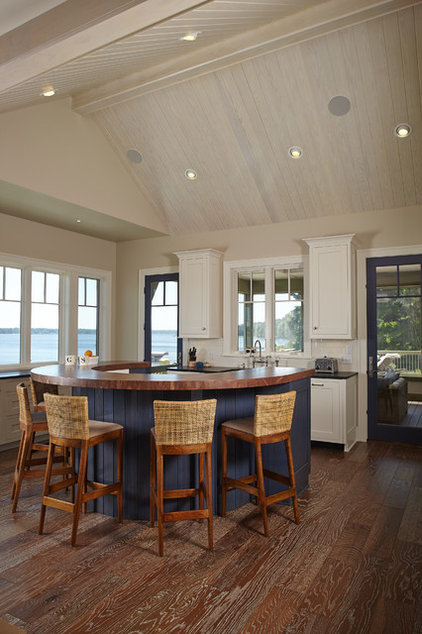 Beach Style Kitchen by Francesca Owings Interior Design