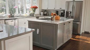 White, Light Filled Kitchen
