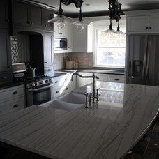 Farmhouse Kitchen by Stone Source