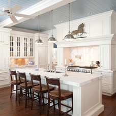 Traditional Kitchen by SANTAROSSA MOSAIC & TILE CO INC