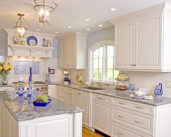 White And Blue Kitchen blue and white kitchen | houzz