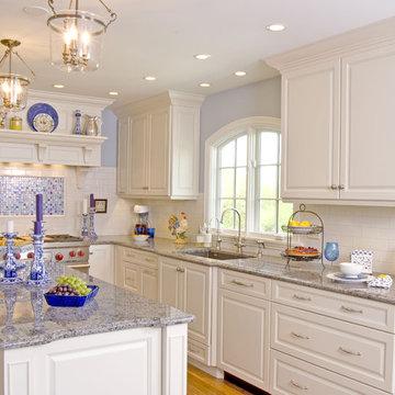 White Modern Classic Kitchen
