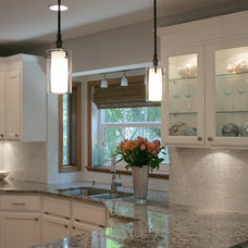 Traditional Kitchen by Tile Circle