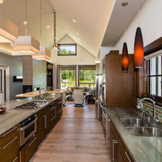 Contemporary Kitchen by Thinktank Design Group