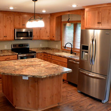 Traditional Kitchen by Lutgen Companies