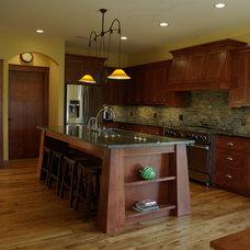 Craftsman Kitchen by Highland Builders LLC