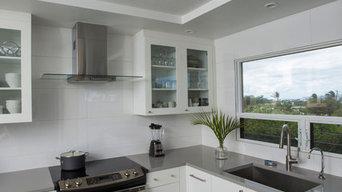 White Oceanview Kitchen