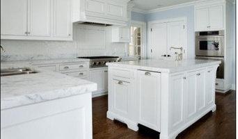White on White Contemporary Kitchen