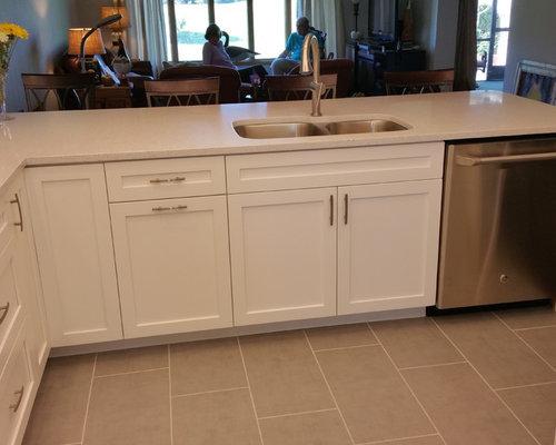 Affordable silestone stellar snow kitchen design ideas for Silestone sink reviews