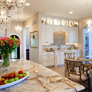 White Ornate Traditional Kitchen Renovation St. Louis, MO