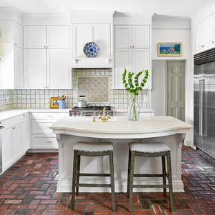 White Painted Cabinets in an Alamo Heights Kitchen Remodel