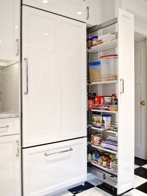 Pull-out Pantry Cabinet | Houzz
