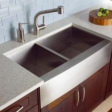 Contemporary Kitchen by IceStone
