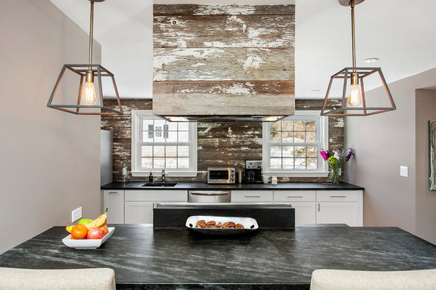 Rustic Kitchen by Andrew Mikhael Architect