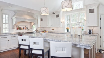 White Quartzite Kitchen Counter Tops