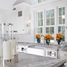 Contemporary Kitchen by Fordham Marble Company Inc.