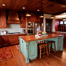 Craftsman Kitchen by Action Pact Design