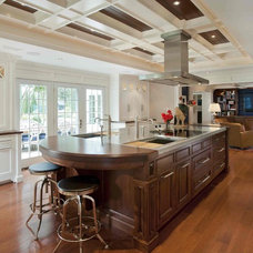 traditional kitchen by Main Street Cabinet Co.