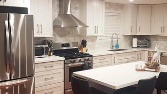 White Shaker Cabinetry