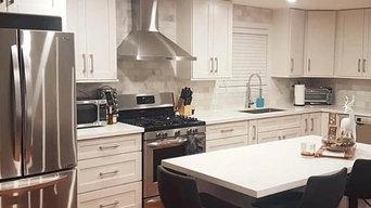 White Shaker Cabinetry