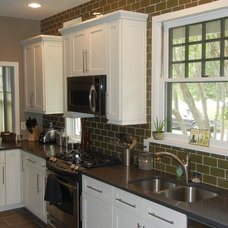 Traditional Kitchen by Austin Budget Cabinets