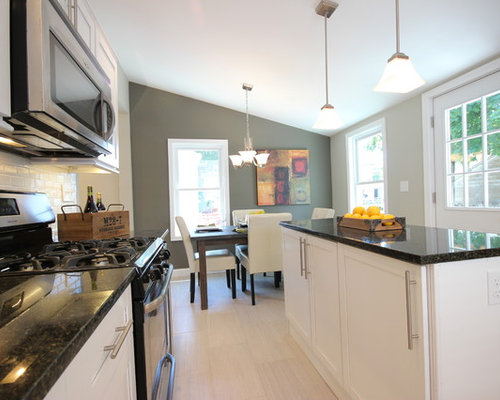 White Shaker Kitchen Cabinets Home Design Ideas, Pictures, Remodel and Decor