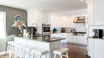 White Shaker Maple Cabinets (Style-S8)