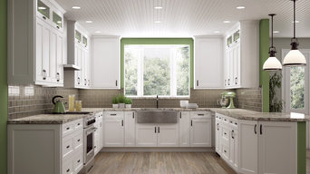 White Shaker Style Cabinets