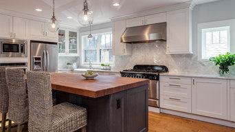 White Shaker Style Kitchen Renovation Project Denver Colorado