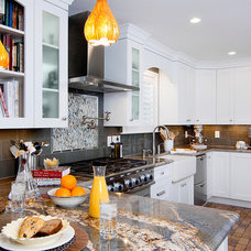 Eclectic Kitchen by In Detail Interiors