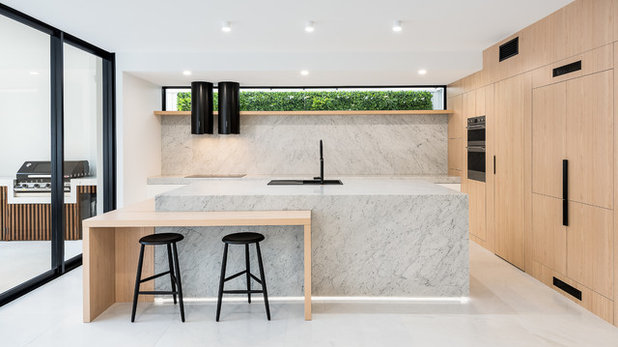 Modern Kitchen by elementpd.com.au
