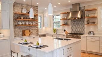 White + Textures Old House Kitchen