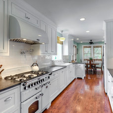 Traditional Kitchen by Elmwood Fine Custom Cabinetry