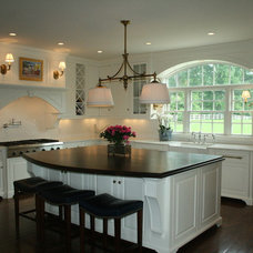 Traditional Kitchen by Miller and Slay Woodworking