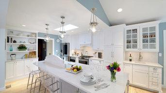 White Transitional Kitchen