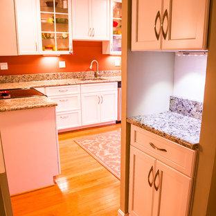 White Transitional Kitchen in Sterling, VA