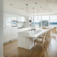 Contemporary Kitchen by Christian Grevstad Inc.