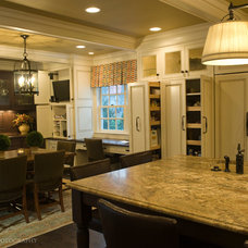 Traditional Kitchen by HB Designs LLC